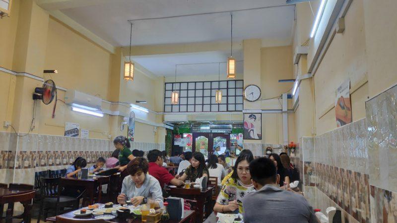 Oishii Sushiの店内
