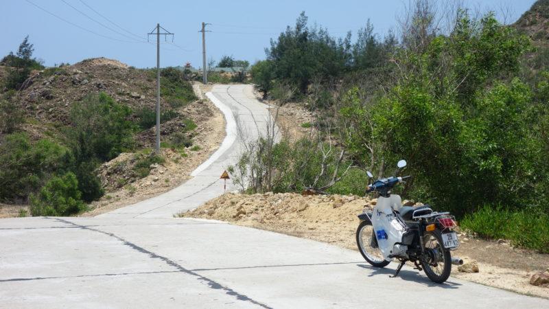 50ccでは登れない坂道