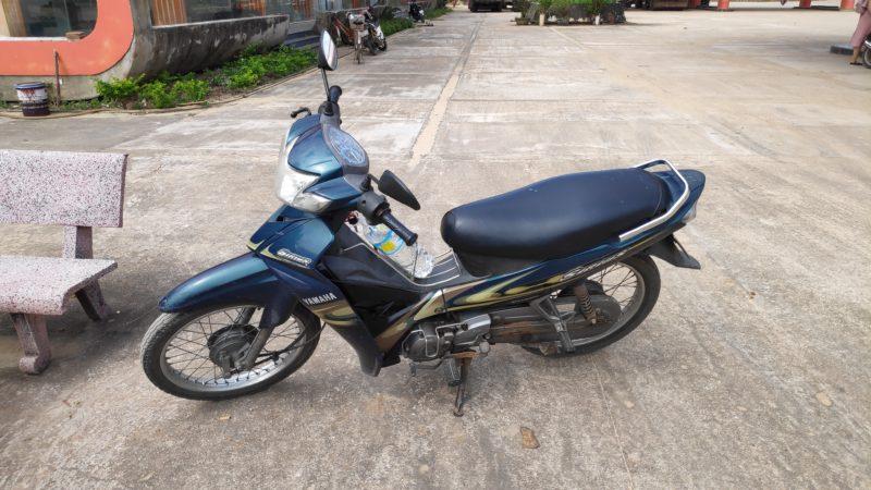 セミオートマタイプのバイク