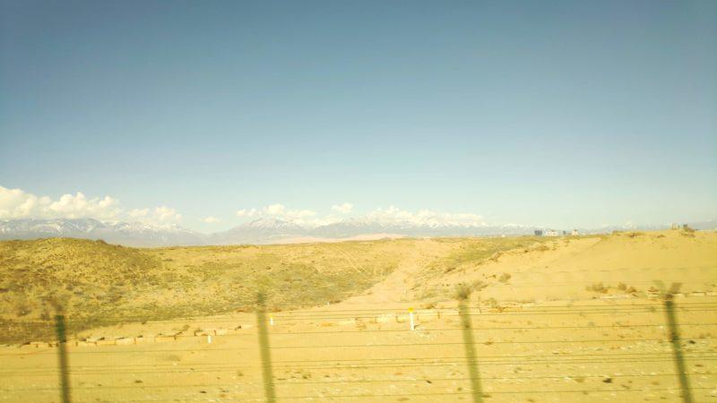 カザフスタンの砂漠地帯