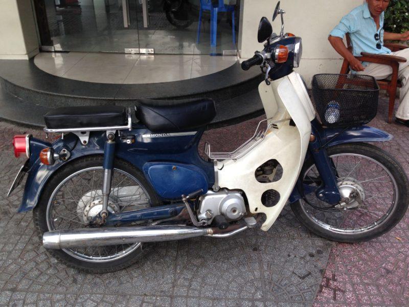 ベトナムで購入したスーパーカブ
