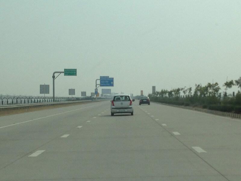 インドの高速道路