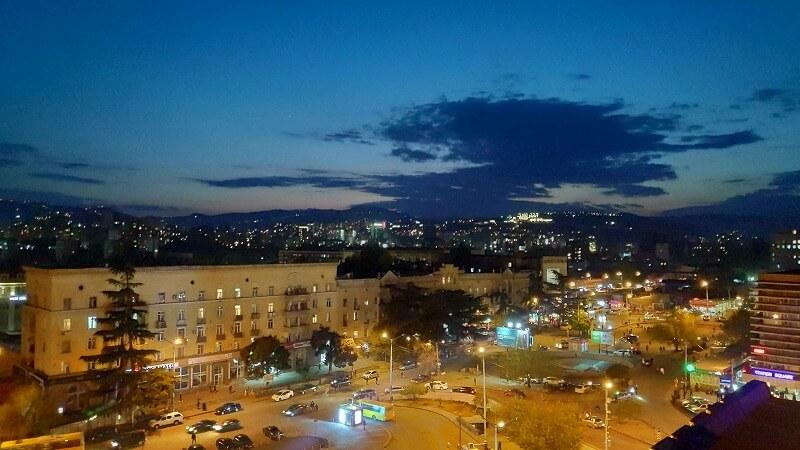 トビリシの夜景