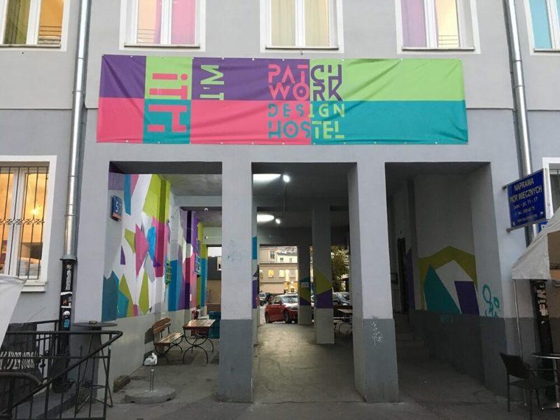 ワルシャワのホステル入り口
