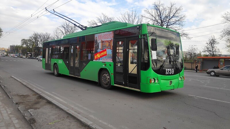 アルマトイのトロリーバス