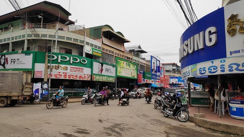 バッタンバンの街並み