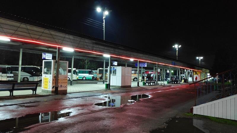 バス乗車場