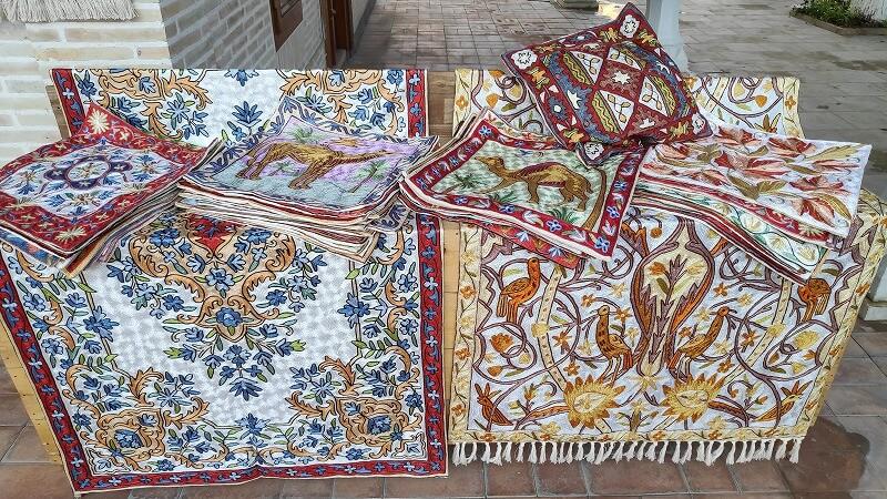 ブハラの刺繍布