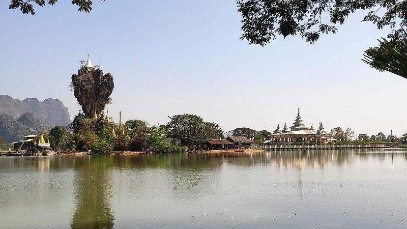 ミャンマー、パアンのチャウッカラッ・パゴダ