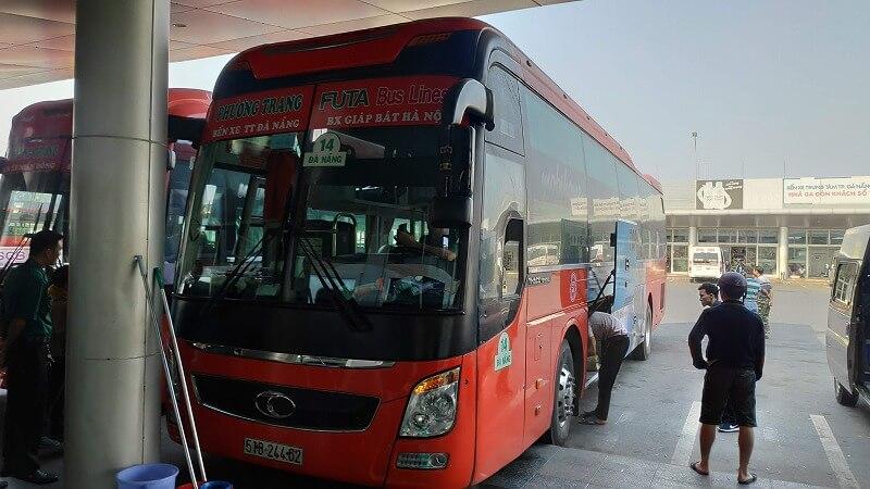 ドンホイからダナンへのバス
