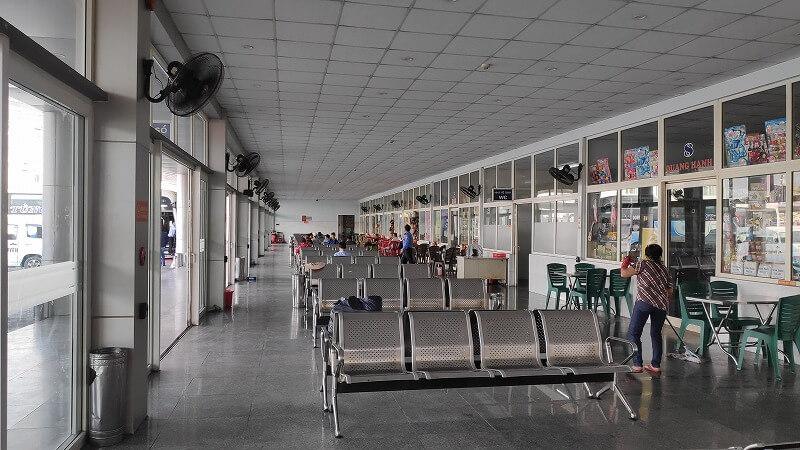 ダナンのバスターミナル