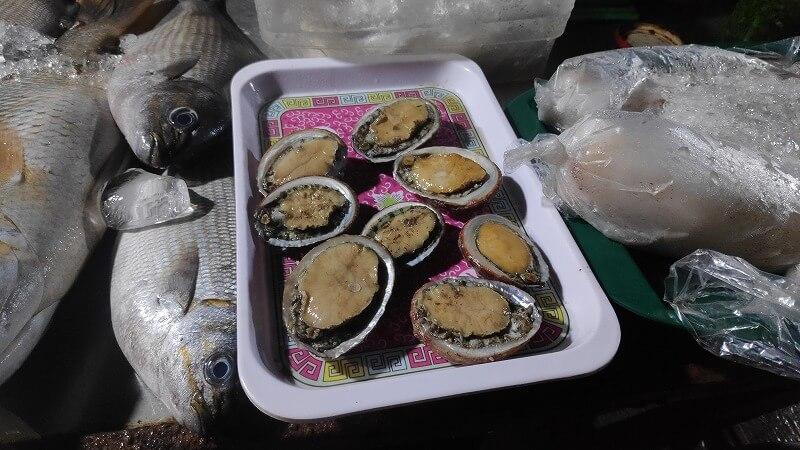 あわびの様な貝
