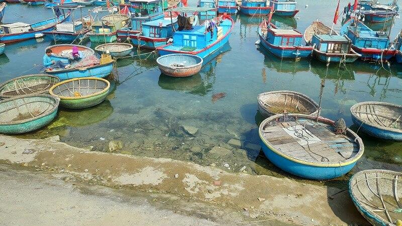 リーソン島の漁船