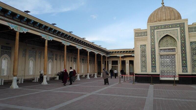 ハズラット・ヒズル・モスク内部