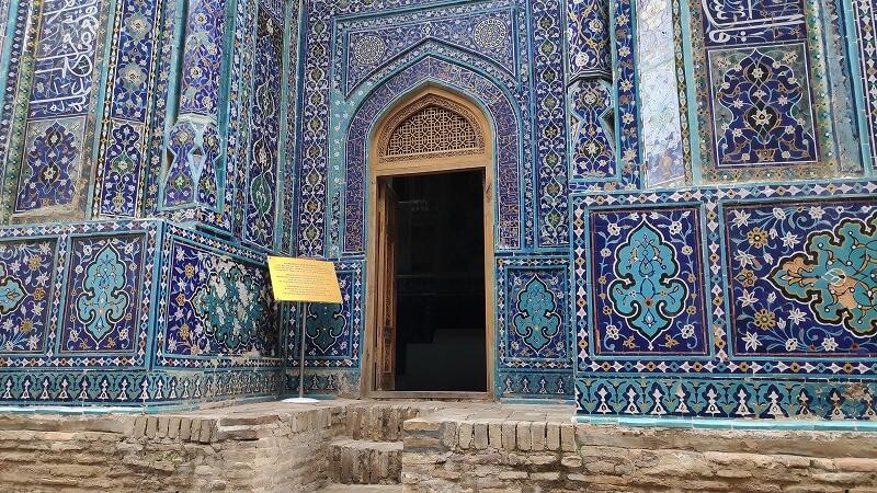 廟の入り口
