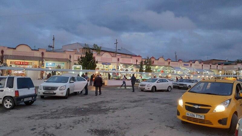 サマルカンドバスターミナル